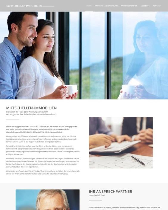 Webdesign Immobilien Makler