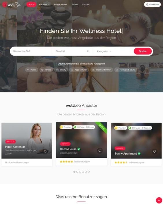 Website-Wellness