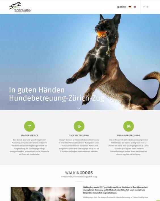 Website Betreuung