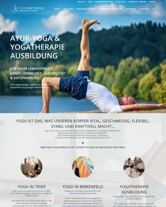Yoga Web-design